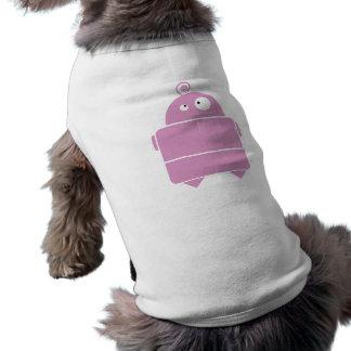 Cute Pink Robot Dog Shirt