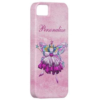 Cute Pink Sugar Plum Fairy Printed Jewel Effect iPhone 5 Cover