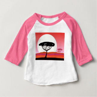 Cute pink tshirt : wild Forest