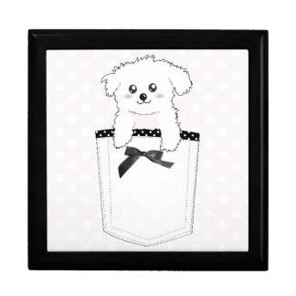Cute Pocket Puppy Dog Gift Box