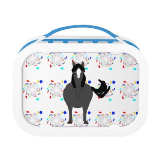 Cute Pony front and rear view Lunch Box