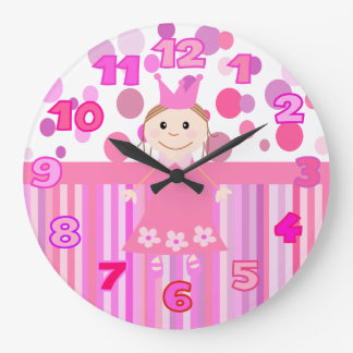 Cute princess wallclocks
