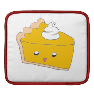 Cute Pumpkin Pie Slice Sleeve For iPads