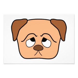 Cute Puppy Dog Custom Announcement