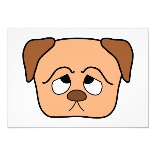 Cute Puppy Dog. Custom Announcement