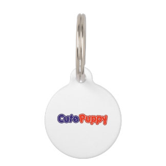 Cute Puppy Pet Tag