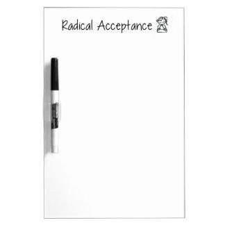 Cute Radical Acceptance Dry Erase Board