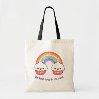 Cute Rainbow Cupcakes Tote Bag