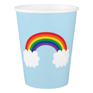 Cute Rainbow Party Paper Cup