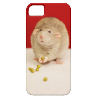 Cute Rat with Peas Barely There iPhone 5 Case