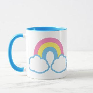 Cute Retro Rainbow Mug