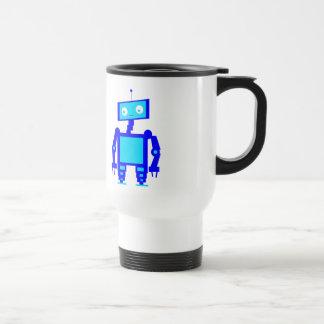 Cute Robot Stainless Steel Travel Mug