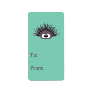 Cute sea Urchin Address Label
