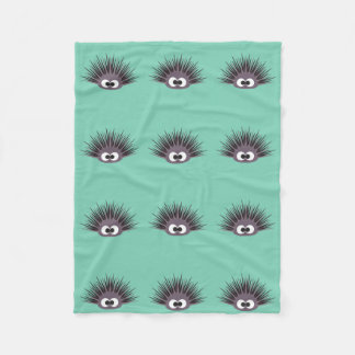 Cute sea Urchin Fleece Blanket