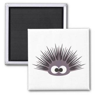 Cute Sea Urchin Square Magnet