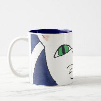 CUTE SILLY CAT COFFEE MUGS