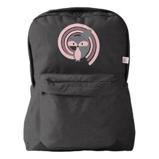 Cute silver baby fox backpack