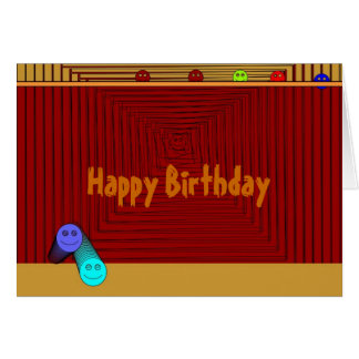 Cute Smiley >Childrens Birthday Card