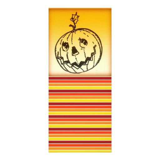 Cute Smiling Jack O Lantern Halloween Personalized Invites