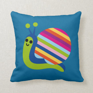 Cute Snail and Turtle Pillow For Nursery or Kids
