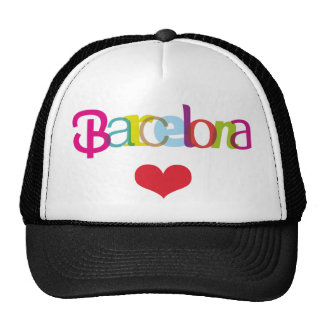 Cute souvenir hat from Barcelona