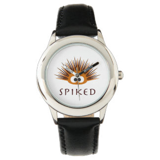 Cute Spiked Orange Sea Urchin Wristwatches