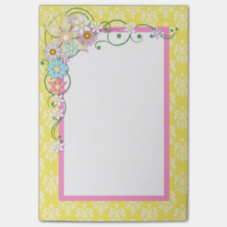 Cute Spring Flowers Post-it Notes
