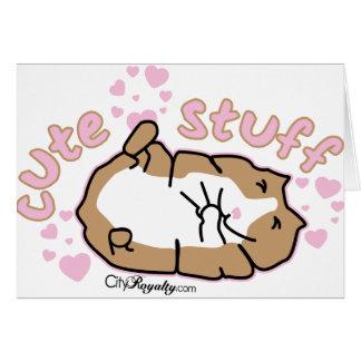 Cute Stuff Greeting Card