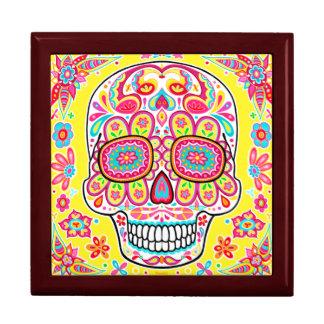 Cute Sugar Skull Gift Box - Day of the Dead