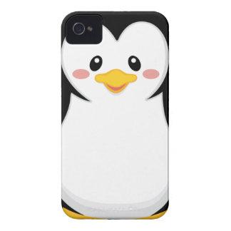 cute sweet little penguin cartoon iPhone 4 cover