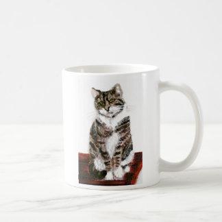 Cute Tabby Cat Mugs