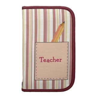 Cute Teacher's Mini Folio Organizer