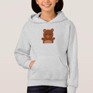 Cute teddy bear hoodie