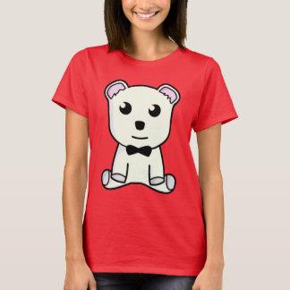 Cute Teddy Bear with Bowtie Shirt