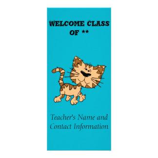 Cute Tiger Cub Custom Rack Card