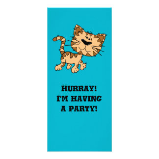Cute Tiger Cub Rack Cards