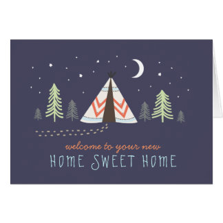 New home greeting cards from Zazzle