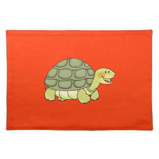 Cute tortoise placemat