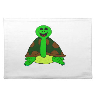 Cute turtle placemat