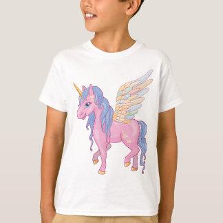 Cute Unicorn with rainbow wings illustration T-Shirt