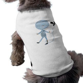 cute unraveling mummy shirt
