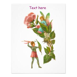 Cute Victorian Fairies Card Invitation