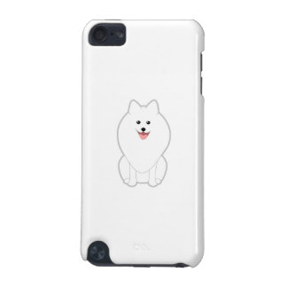 Cute White Dog. Spitz or Pomeranian. iPod Touch 5G Covers