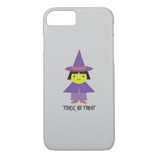 Cute Witch - Trick or Treat iPhone 7 Case