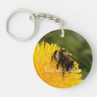 Cute Worker Bee; Promotional Key Ring