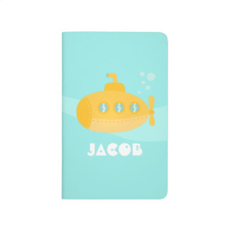 Cute Yellow Submarine under the sea, For Kids Journal