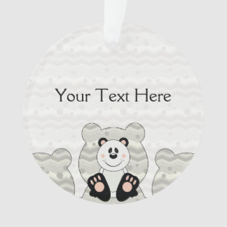 Cutelyn Panda Bear Ornament