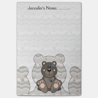 Cutelyn Teddy Bear Post-it Notes
