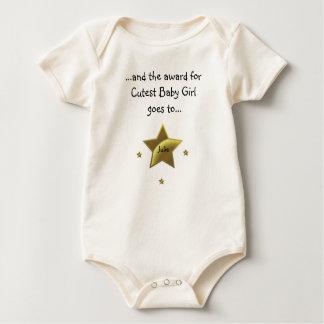 Cutest Baby Girl-Julie Baby Bodysuit