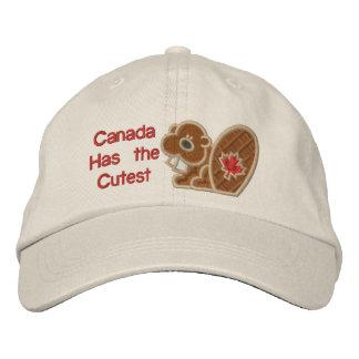 Cutest Beaver Embroidered Baseball Cap